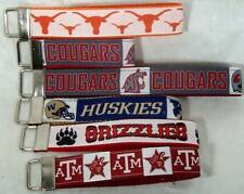 Grizzlies Washington State Cougars Huskies Texas A&M Longhorns Wristlet Key Fob