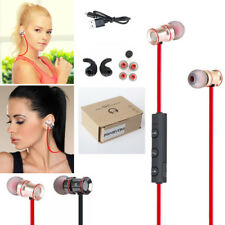 Red YP53 In-Ear Sport Bluetooth Headphone Headset Earphone For Call Phone Galaxy
