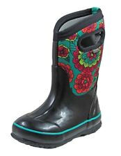 Bogs Outdoor Boot Girl Classic Pansies Waterproof Insulated 72158
