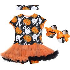 3pcs Kids Girls Baby Toddler Party Costume Tutu Dress Outfits + Headband + Shoes
