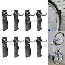 Steel Cycling Bike Storage Wall Mounted Rack Stand Hook Holder Floor Stand