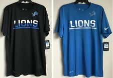 New $32 NFL Men's Dri-fit NIKE T-Shirt Football Tee Shirt 100% Polyester Fit