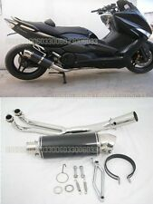 Carbon Exhaust Silence for Yamaha TMAX500 T-MAX 500 T Max 08 09 2010 11 33#G