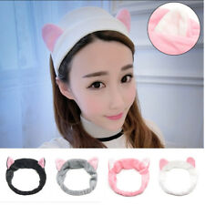 Cat Ears Hairband Head Band Headdress Hair Accessories Party Gift Makeup Tools