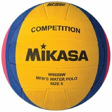 Mikasa NFHS Competition Water Polo Ball (Yellow/Blue/Pink) New