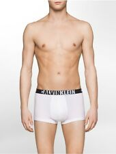 calvin klein mens ck id graphic cotton stretch low rise trunk underwear