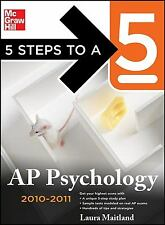 5 Steps to a 5 AP Psychology, 2010-2011 Edition (5 Steps to a 5 on the Advanced