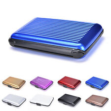 Waterproof Business ID Credit Card Wallet Holder Aluminum Metal Pocket Case TB
