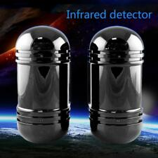 Alarm Dual Beam Photoelectric Infrared Detector 100M Home & Garden Security #M