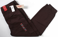 Levi's Banded Cargo stretch Jogger Pants- NEW- dark BROWN- slim fit levis- $69