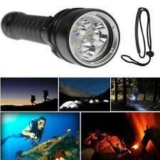 8000LM 3x XML L2 LED Scuba Diving Underwater 100M Flashlight Torch Waterproof
