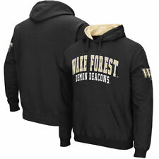 Wake Forest Demon Deacons Team Name Double Arches Pullover Hoodie - NCAA