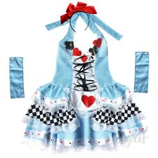 Plus Size Maid Women Costume Blue Fancy Dress For Halloween & Cosplay Custume