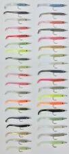 ORIGINAL COLOUR DELTA EEL FISHING LURE PKT4 50mm or 65mmYou Will Receive 4 lures