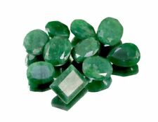 Natural Green Emerald Faceted Loose Gemstones Wholesale Lot
