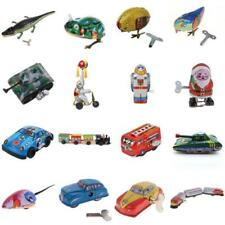 Vintage Clockwork Wind Up Tin Toys Kids Children Fun Party Favour Bag Filler Toy