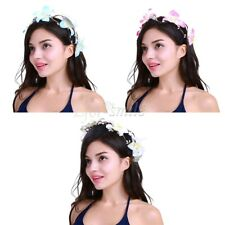 Women Girls Flower Headband Hairband Garland Floral Handmade Wedding Accessories