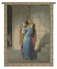 The Kiss by Hayez Italian Medieval Woven Tapestry Wall Hanging NEW