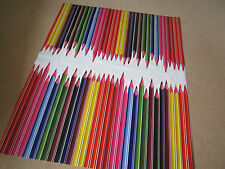 NEW WIPEABLE PVC VINYL KIDS TABLE CLOTH PENCILS crayonsPLAYROOM SCHOOL ALL SIZES