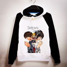 Anime Death Note Hoodie Light Yagami Pullover Sweatshirt L.Lawliet Coat Sweater