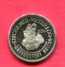 1974 Kitchener Canada - Octoberfest .999 Silver Trade Dollar - OGP