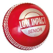 HART LOW IMPACT PVC CRICKET BALL - RED - JUNIOR / SENIOR - TWO PIECE