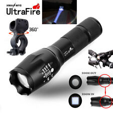 Ultrafire 50000LM T6 LED Zoomable Flashlight Tactical 18650 Torch Lamp Clip Hot