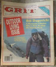 GRIT NEWSPRINT MAGAZINE ~ MAY 18, 1986 ~ OUTDOOR LIVING ISSUE / BILL DUGOVICH
