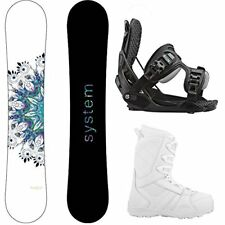 2018 Flite Snowboard and Flow Bindings w/ Lux Complete Womens Snowboard Package