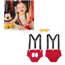 Infant Baby Boys Y Back Elastic Clip Suspenders with Bowtie Outfit Clothes