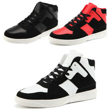 Mens High Top Fashion Athletic Sneakers Skateboarding Trainers Sports Shoes New