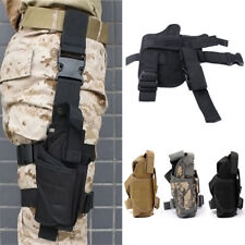 Adjustable Tactical Pistol Gun Drop Putter Right Leg Thigh Holster Pouch Holder