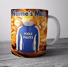 Speedway Personalised Mug / Cup - Poole Pirates Themed Gift - Any NAME