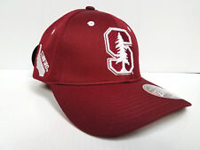 Stanford Cardinal Cap Zephyr Stretch Fit Fitted Stateside Hat NCAA