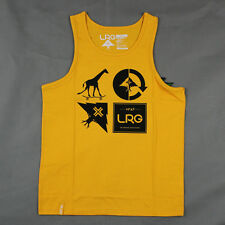 Lifted Research Group L-R-G - The RC Mashup Tank Top in Gold NWT LRG