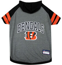 Cincinnati Bengals Tee Hoodie NFL Dog Pets First (all sizes)