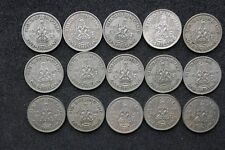 Scottish Shillings 1937 to 1951 - all Selected Circulated -  choose your date