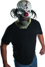 Smile Now Cry Later Adult Men Clown Overhead Costume Latex Mask