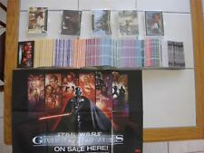 STAR WARS GALACTIC FILES SERIES 1 COMPLETE MASTER 350 + 5 CHASE SETS ~ 408 TOTAL