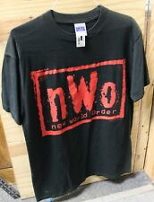 New World Order T-Shirt nWo Wolfpac WCW Professional Wrestling T Shirt by Tultex