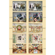 Xmas Decals Removable Window Stickers Door DIY Sticker Wall Decor Wall Art