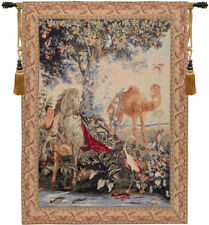 Cheval Drape French Woven Wall Hanging Tapestry 32 x 25""