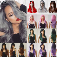 Colorful Full Long Straight Cosplay Wig Party Hair Fashion Heat Resistant Wigs 5