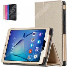 "PU Leather Silk Flip Stand Case Cover For 7""Huawei MediaPad T3 7.0 BG2-W09+Film"