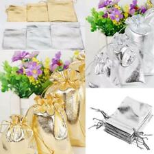 50pcs Organza Bag 3 Size Wedding Favors Jewelry Candy Beads Gift Pouch Bags