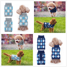 Pet Dog Warm Clothes Puppy Cats Winter Sweater Apparel Jacket Coat Costume
