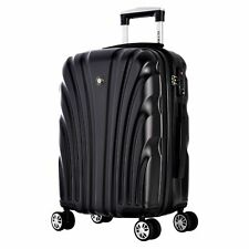 "Olympia ""Vortex"" 21-inch Carry-on Hardside Spinner Upright Suitcase"
