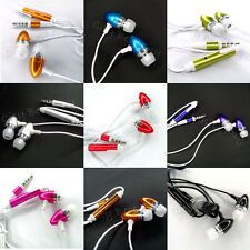 Remote & Mic Metal Earphone Headphone HeadSet for iPhone 3G 3GS 4G 5G HTC LOT