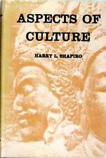 Aspects of Culture - Harry L Shapiro 1st ed HB+DW 1957 Brown and Haley Lectures