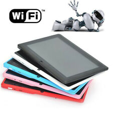 """7"""" INCH Quad Core Android 4.4 Dual Camera 4GB Tablet PC Bluetooth WiFi XMAS GIFT"""